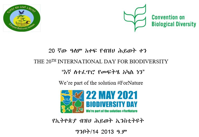 The 20th International Biodiversity Day was celebrated
